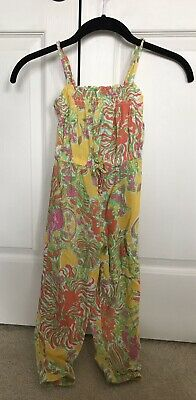 d3a4281b9aa3 Girls Lilly Pulitzer for Target Romper Happy Place Size XS 4 5