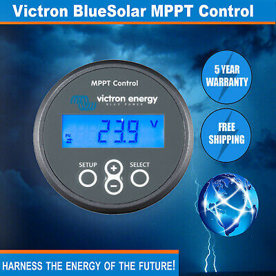 Victron BlueSolar MPPT Control Suits all charge controllers with VE direct port