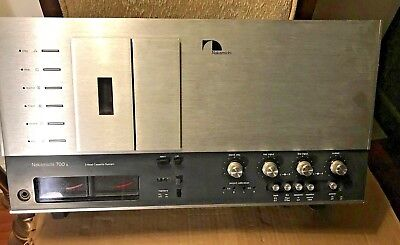 Nakamichi 700 Ii Cette Deck 3 Heads Dolby Nr 100 240v Collection Item