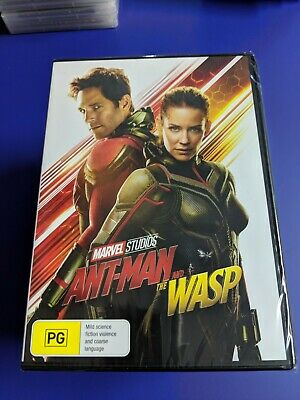 Ant-Man And The Wasp (DVD, 2018) - Free Express Shipping