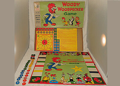 Woody Woodpecker 1958 Board Game Chilly Willy Andy Panda Oswald Walter Lantz