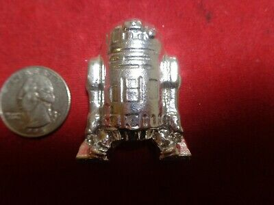 3.5 Troy ounce .999 Silver. Hand Poured R2 D2 design ingot   MFS