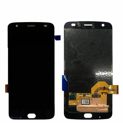 Per Motorola Moto Z2 Force XT1789-01 05 06 LCD Touch Digitizer Assembly Nero RHN
