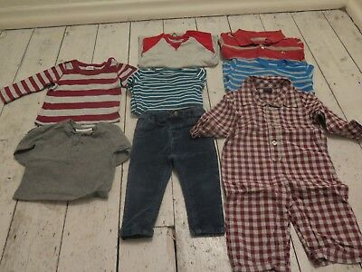 Baby boy clothes bundle 6-12mths (Polarn o Pyret, Baby Gap Little White Company)