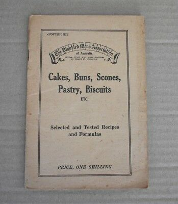 Early Australian Disabled Mens Association Cook Book