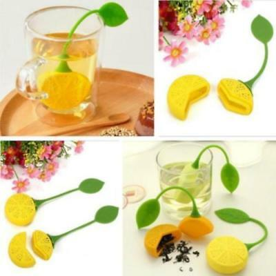 Silicone Loose Tea Holder Leaf Strainer Herbal Spice Infuser Filter Diffuse OO