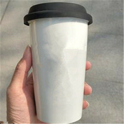 Round Silicone Insulation Anti-Dust Cup Cover Tea Coffee Sealing Lid Cap SH