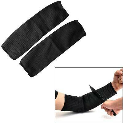 Cut Proof Armband Protective Sleeve Steel Wire Arm Elbow Guard Bracers MP