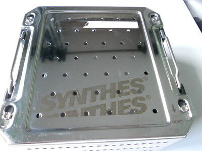 Synthes 68.636.002  Sterilization Case. Case/Tray only. Free UK P&P.