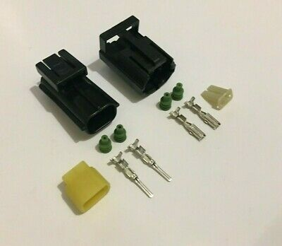 2 Way Male & Female Econoseal Electrical Multi Connector - Genuine AMP Product