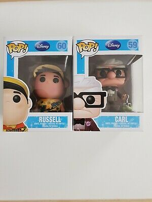 Disney Pop Funko Russell #60 And Karl #59 Series 5 Up