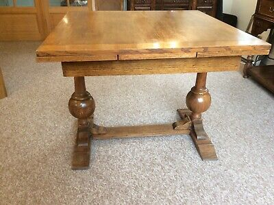 Antique Oak Extending Dining Table