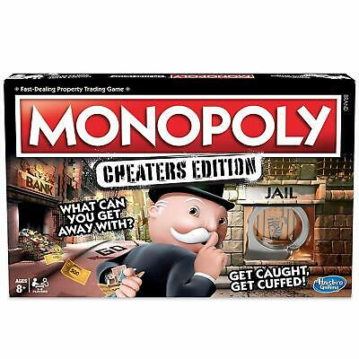Monopoly Cheaters Edition Board Game Cheat Bend Break Rules Fun Family Activity