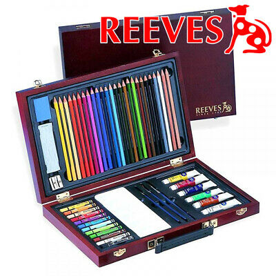 Reeves Superior Maxi Colour Art Box Set- water, pencil craft school collage gift