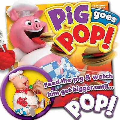Pig Goes Pop Kids Game Fun Play Feed Hamburgers Toy Fast Family Children  New