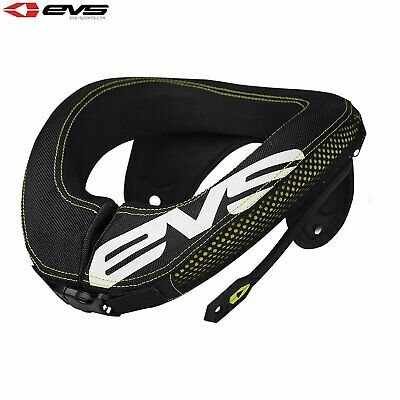 Evs Protection R3 Neck Inc Armour Straps Youth Kids Body - Black One Size
