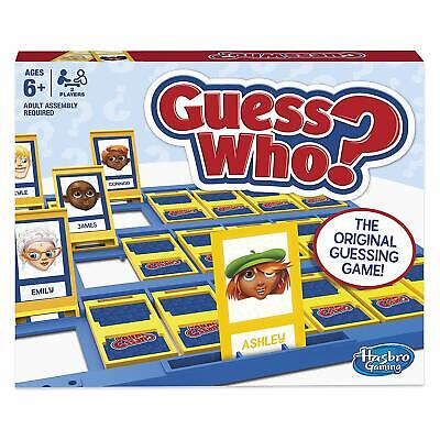 Guess Who? Classic Guessing Game Find Mystery Character Original Hasbro Gaming