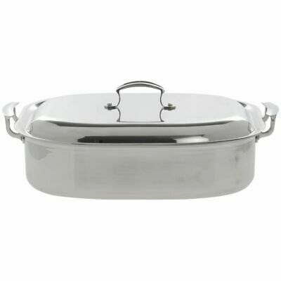 Vollrath Miramar® French Oven Roasting Pan  7 qt Tri-Ply Stainless Steel - 14