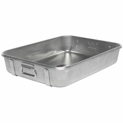 "Vollrath Wear-Ever® Top Roasting Pan with Straps 29 1/2 qt Aluminum - 24""L x"