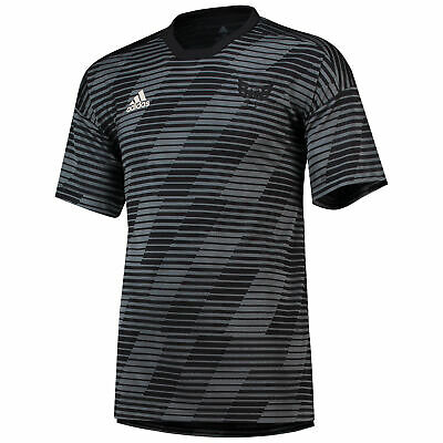 DC United Tango Engineered Trikot Sport Fußball Shirt Schwarz Herren adidas