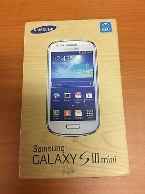 Samsung Galaxy S3 Mini GT-I8200N - 8GB - Onyx Black (Unlocked) Smartphone
