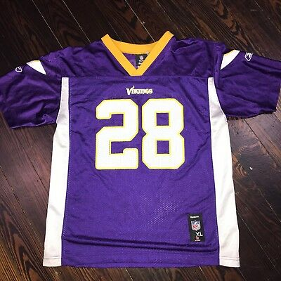 NFL Team Apparel Minnesota Vikings Adrian Peterson Jersey Youth XL  Awesome!Cool! 156ebe9a2