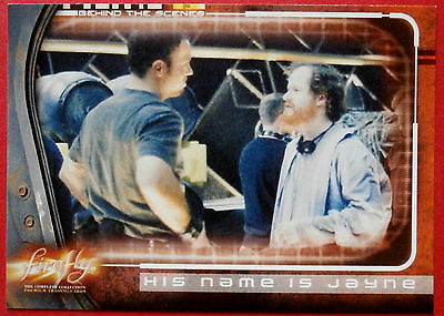 Joss Whedon's FIREFLY - Card #65 - His Name is Jayne - Inkworks 2006