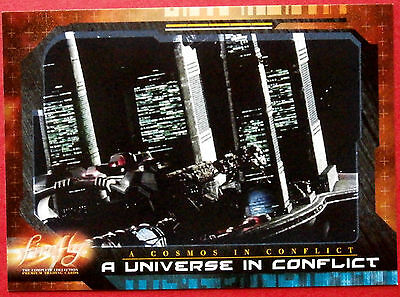Joss Whedon's FIREFLY - Card #59 - A Universe in Conflict - Inkworks 2006