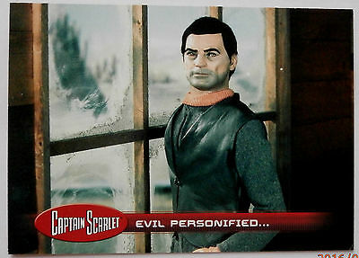 CAPTAIN SCARLET - Card #11 - Evil Personified... Unstoppable Cards 2015