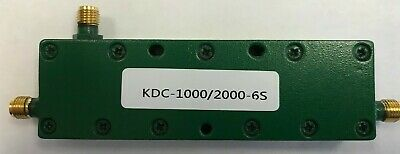 SMA 6DB directional coupler 1GHz to 2 GHz