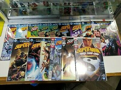 New Superman DC Rebirth Complete Run Set Lot of 14 Different Issues