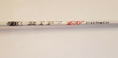 Aldila Rip D Nv Driver Shaft In Regular Flex And Golf Pride Grip Fitted
