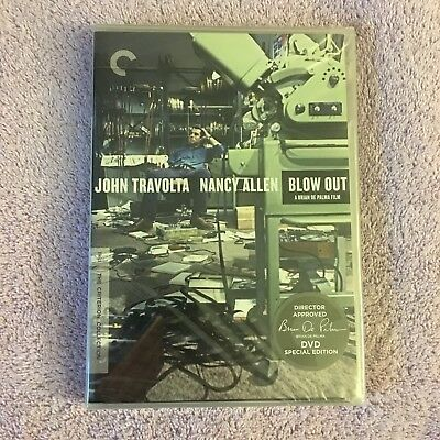 Blow Out (DVD, 2011, 2-Disc Set, Criterion Collection, Widescreen) Brand New