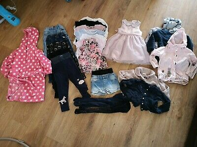 girls age 3-4 years clothing bundle tops jeans leggings cardigans jackets next