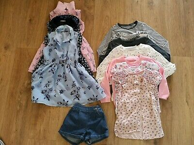 girls age 4-5 years clothing bundle tops shorts dresses summer spring next