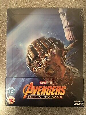 Blu Ray Steelbook - Avengers: Infinity War 3D - New And Sealed