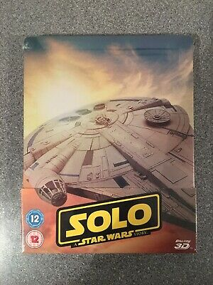 Blu Ray Steelbook - Solo: A Star Wars Story - Zavvi Exclusive - New And Sealed