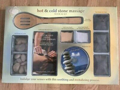 HOT & COLD STONE MASSAGE BOOK and Starter Kit (Book and CD)