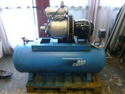 HYDROVANE 14cfm COMPRESSOR - serviced c/w warranty - screw