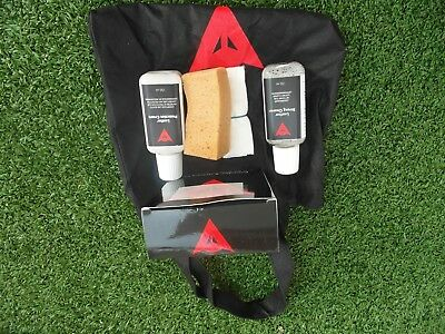 Dainese kit protection cuir nettotant 150ml & crème protection 150ml cuir moto