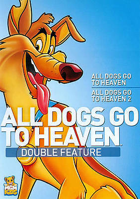 All Dogs Go to Heaven/All Dogs Go to Heaven 2 Double Feature DVD New