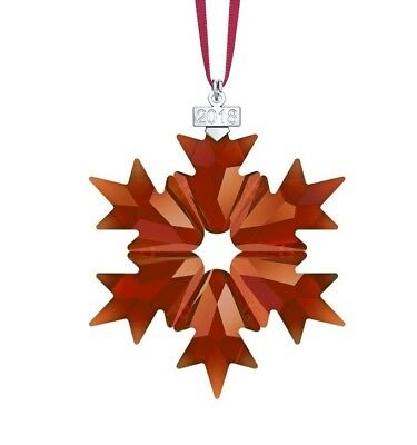 New Authentic Swarovski Christmas Ornament Red Annual Edition 2018 - 5460487