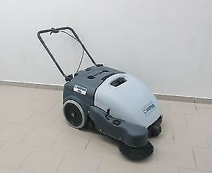 Nilfisk SW750 Walk-Behind Commercial Sweeper NEW BATTERY