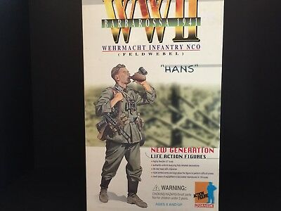 Dragon 1/6 Scale Figure Wwii German Wehrmacht 'hans' Operation Barbarossa 1941