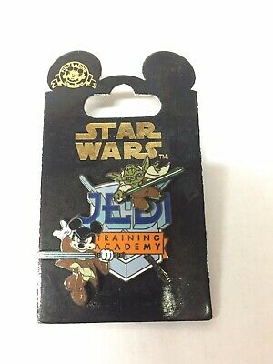 Star Wars Disney Pin - Mickey and Yoda - Jedi Training Academy