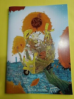 William Kirkby - Tuk Tuk Vol.1. Self-published comic, Signed And Sketched