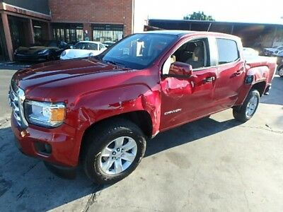 2018 GMC Canyon SLE 2018 GMC Canyon SLE Salvage Damaged Repairable! Priced To Sell! Wont Last! L@@K