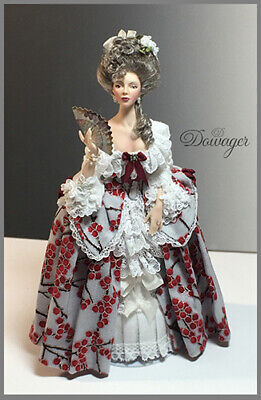 1:12 scale Doll Tutorial-Pattern-Instructions Clothes/Hair/& much more DOWAGER