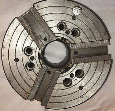 """Pratt Burnerd 10"""" 3 Jaw Self Contained Power Chuck A2-6 Spindle Model 1749-02780"""