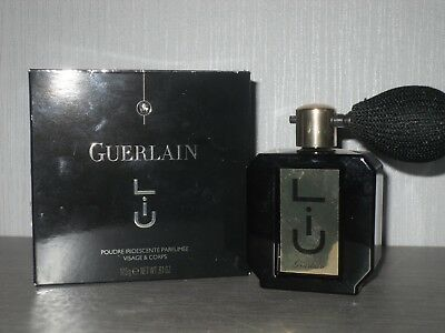 GUERLAIN perfumed shimmer body powder in Art Deco container